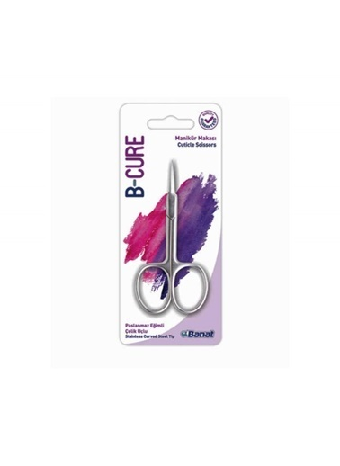 Banat Banat B-Cure Cuticle Scissors Renksiz